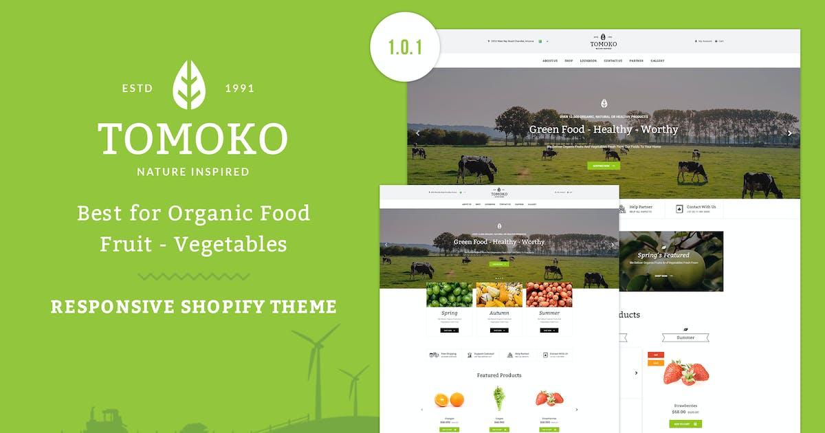 Download Tomoko - Organic Food/Fruit Shopify Theme by EngoTheme