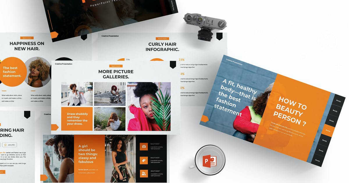 Download Foshio - Powerpoint Template by aqrstudio