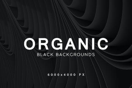 Black Organic Backgrounds 2