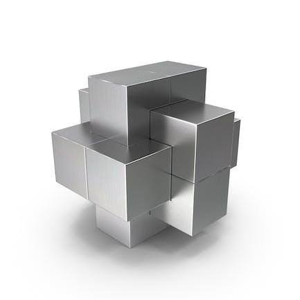 Puzzle Metálico