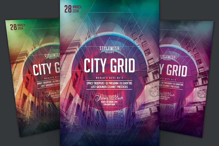 Thumbnail for City Grid Flyer