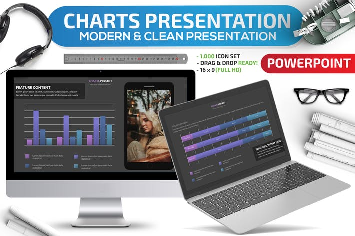 Thumbnail for Charts Powerpoint Presentation