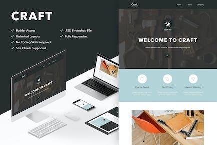 Craft - Responsive Email + Themebuilder Access