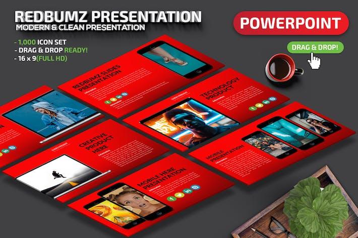 Thumbnail for Презентация Powerpoint Redbumz