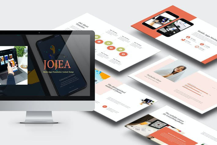 Thumbnail for Jojua : Mobile App Powerpoint