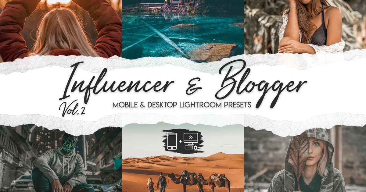 Download Influencer & Blogger Vol. 2 by ClauGabriel