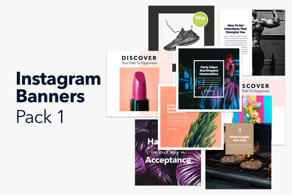 Download Instagram Banners Pack 1 by CreativesCastle