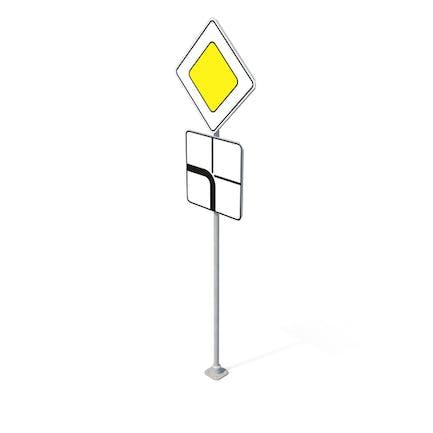 Verkehrszeichen Hauptstraße