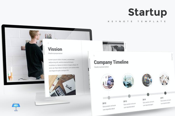 Startup - Keynote Template