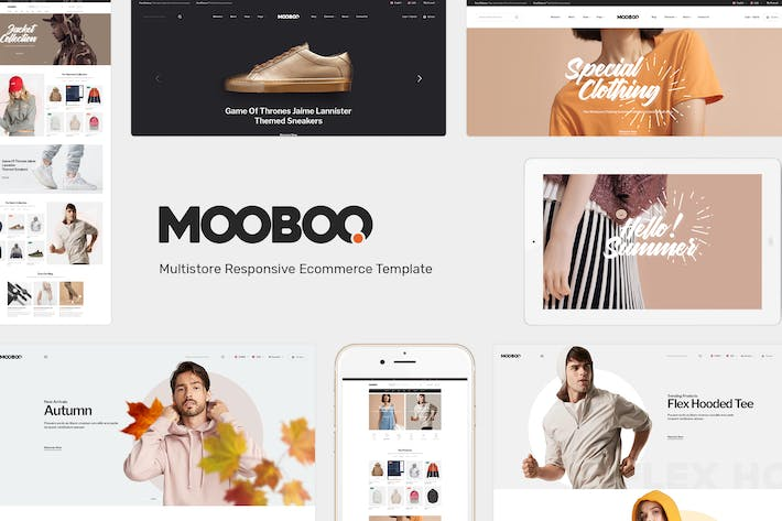 Thumbnail for Mooboo - Fashion Theme for WooCommerce WordPress