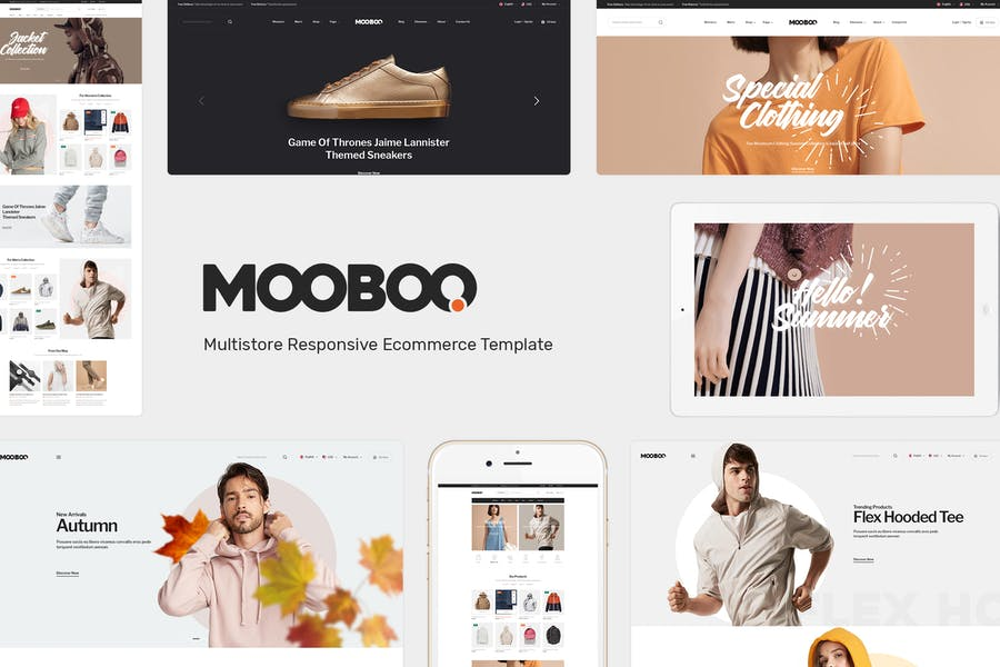 Mooboo - Tema de moda para WooCommerce WordPress