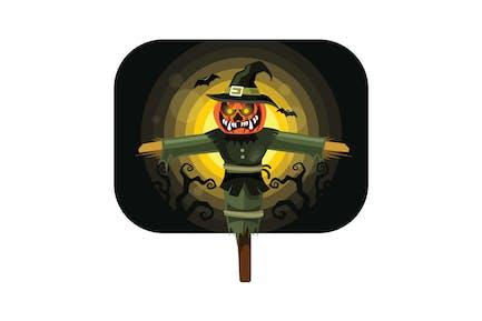 Хэллоуин Пугало персонаж