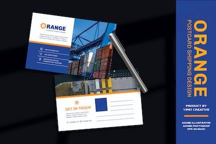 Logistic - Cargo Transport Postcard