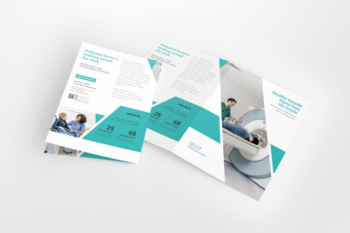 Thumbnail for A4 / A5 Medical Bifold Brochure