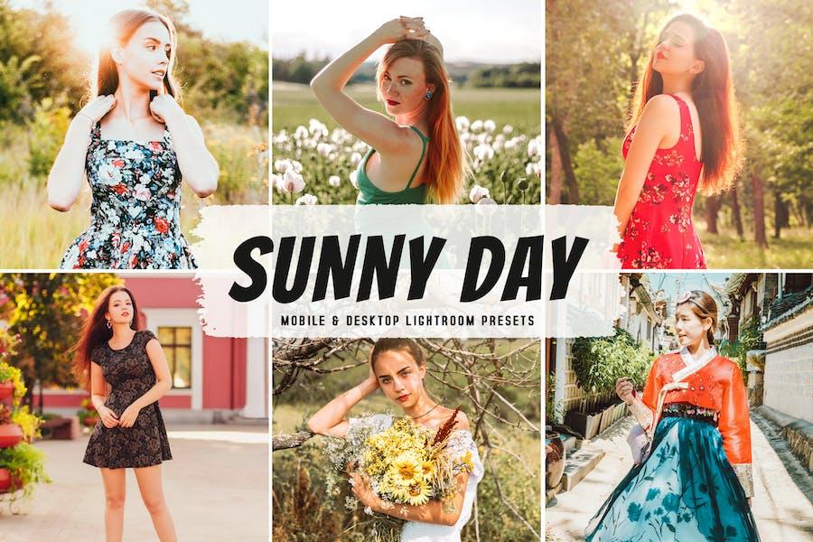 Sunny Day Mobile & Desktop Lightroom Presets