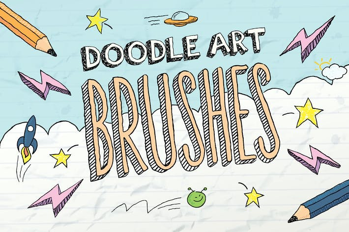 Cover Image For Doodle Brushes