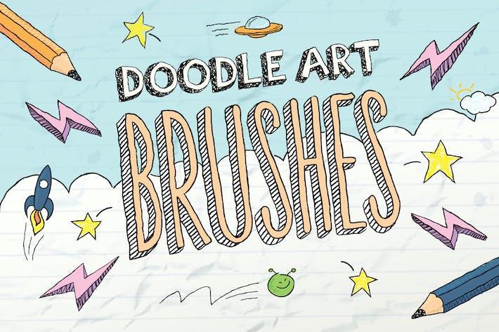 Кисти Doodle