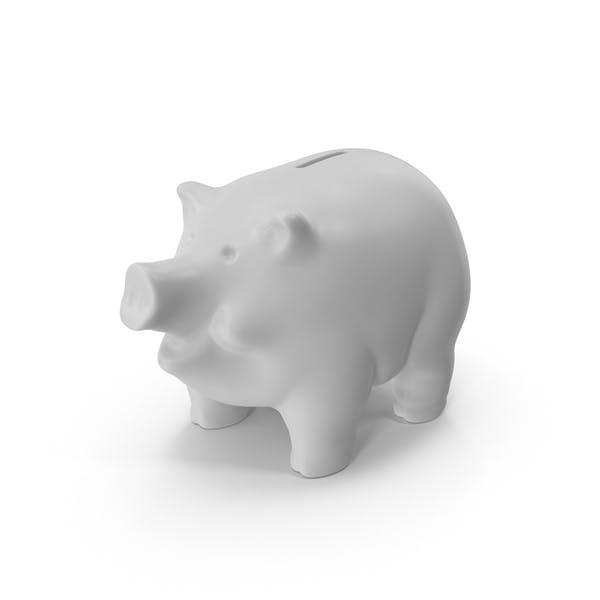 Thumbnail for Weißer Sparschwein
