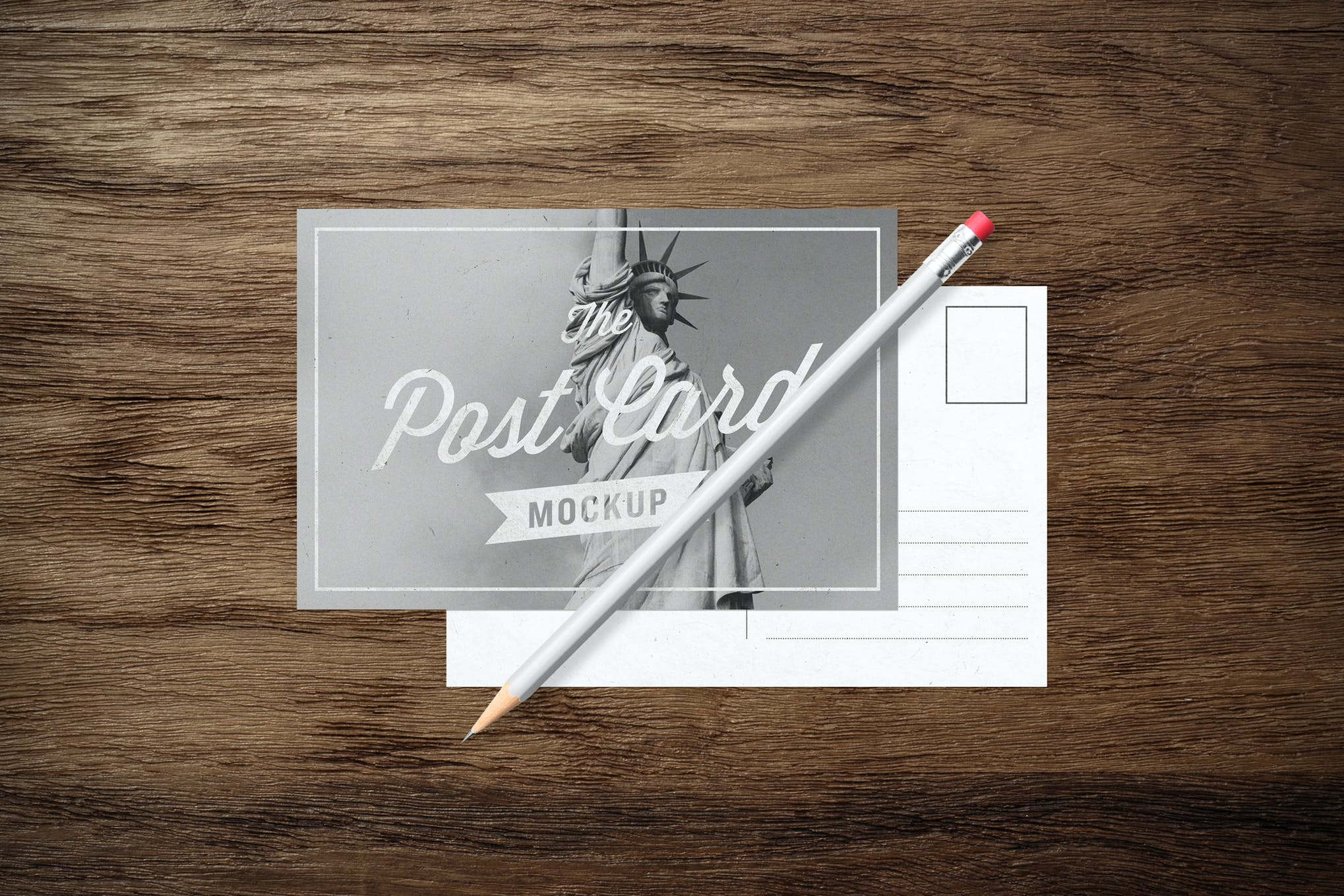 Mockup - Greeting Cards & Envelope by blackpattern on Envato Elements