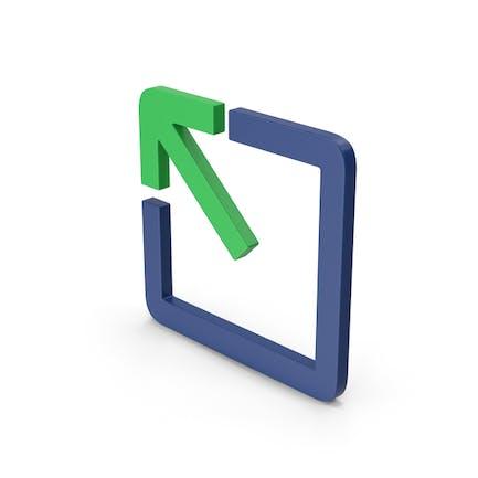Symbol Expand / Maximize Button
