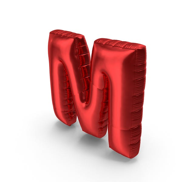 Cover Image for Foil Balloon Letter M