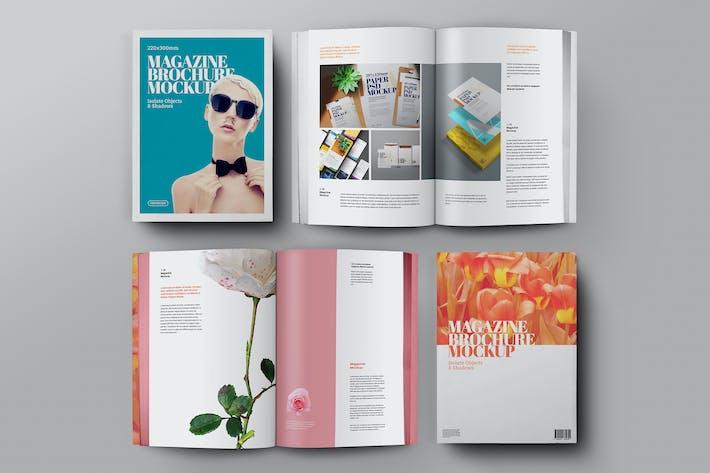 Thumbnail for Magazine Brochure Mockup