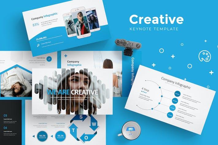 Creative Keynote Templates