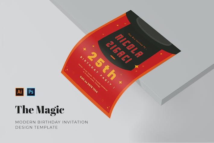 Magic Birthday Invitation