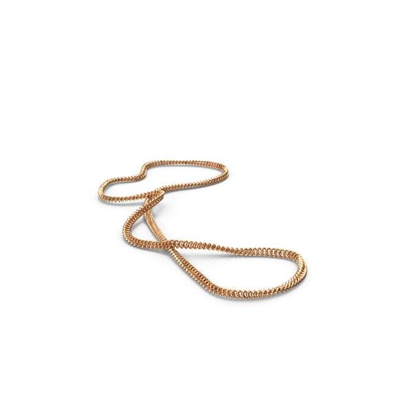 Золотая цепочка ожерелье