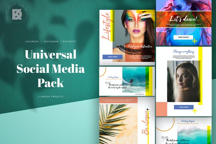 Cover Image For Universal Social Media Kit