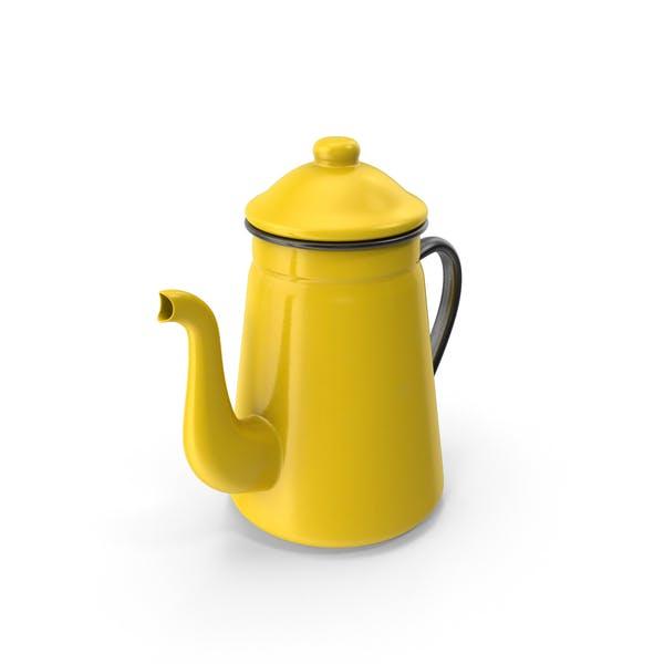 Thumbnail for Enamel Teapot