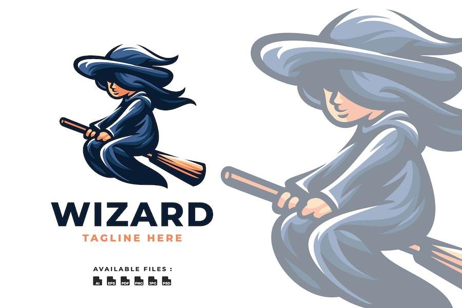 Wizard Playful Logo