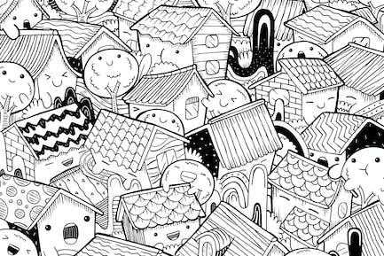 Stadt Doodle