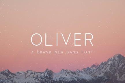 Oliver Sans Font