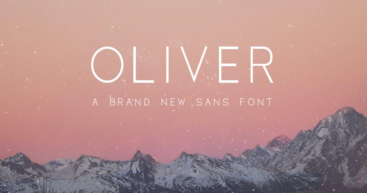 Oliver Sans Font by maroonbaboon