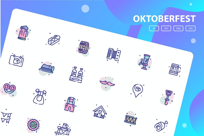 Thumbnail for Oktoberfest Icon Pack