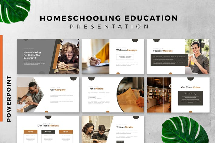 Thumbnail for Homeschooling / education Powerpoint Slide