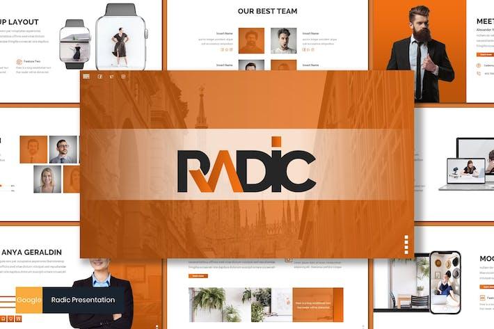 Thumbnail for Radic - Business Google Slides Template