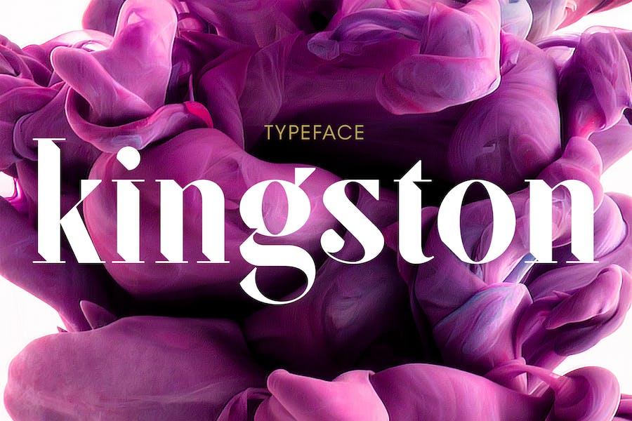 SF Kingston | Font