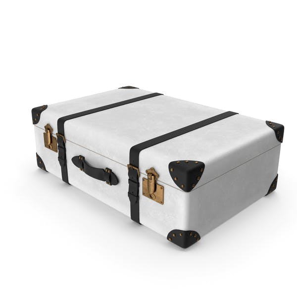Retro Suitcase White