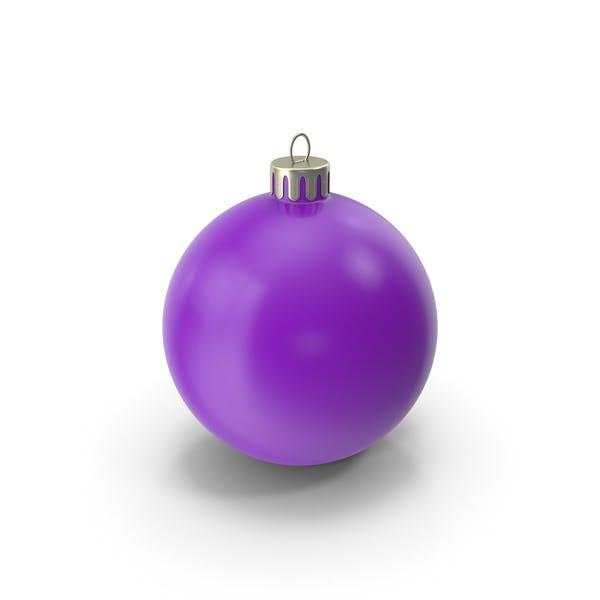 Christmas Ornament Purple