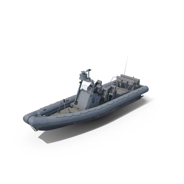 Thumbnail for Naval Special Warfare Rigid Hull Inflatable Boat RHIB