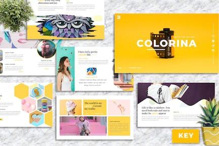 Colorina – Creative Business Keynote Template