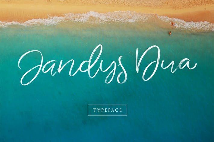 Thumbnail for Jandys Typeface