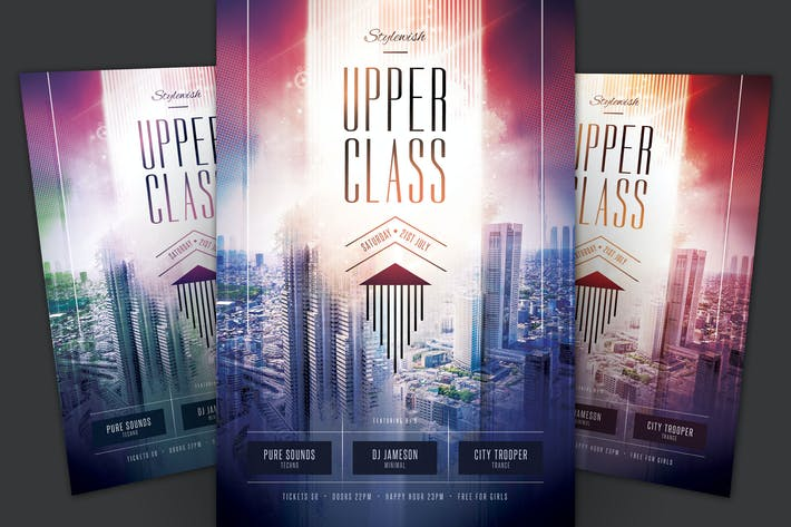 Cover Image For Upper Class Flyer