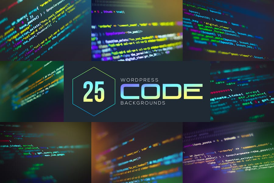 Wordpress Code Backgrounds