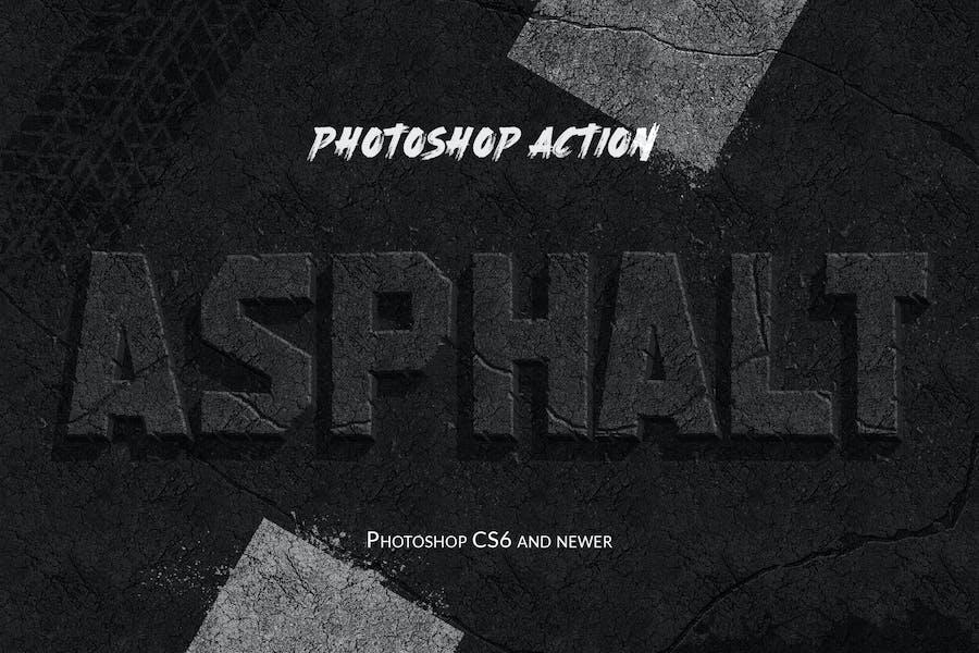 Asphalt - Photoshop Action