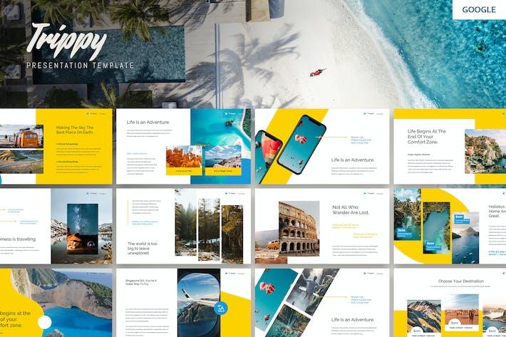 Thumbnail for Trippy - Travel Business Google PräsentationsVorlage