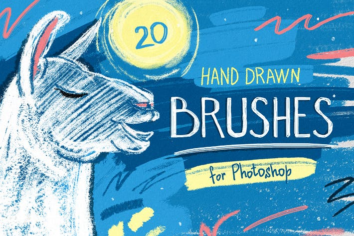 Cover Image For Essential Hand Drawn Brushes