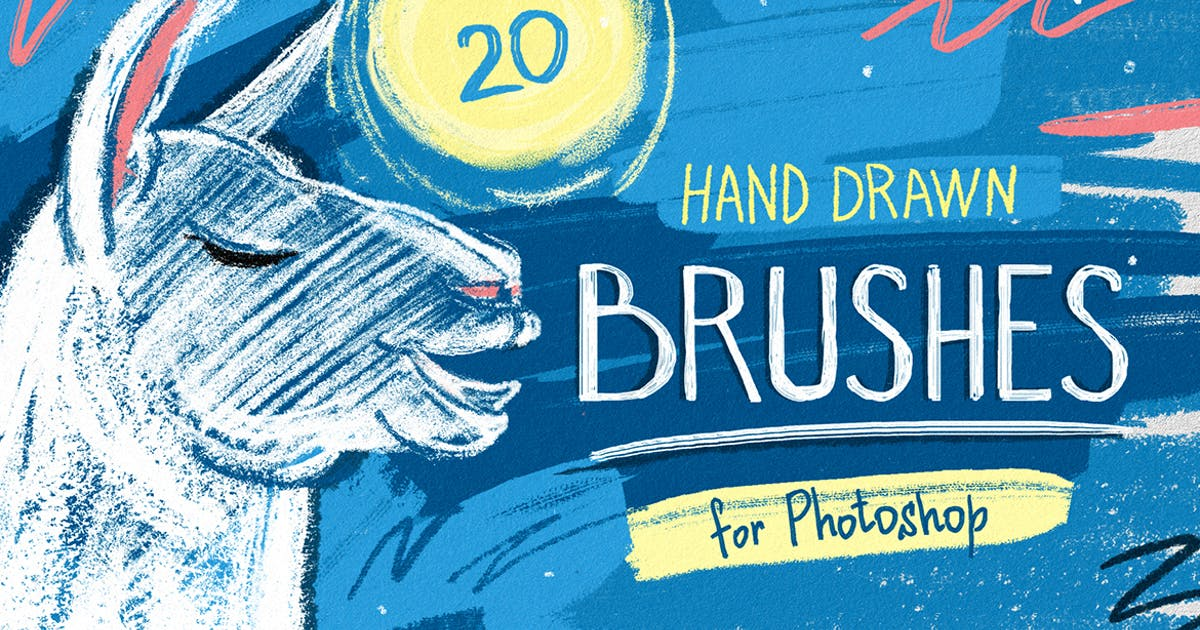 Download Essential Hand Drawn Brushes by pixelbuddha_graphic